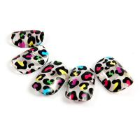 Buy cheap Plastic Nail Art Fake Nails , Crackle nail tips artificial fingernails from wholesalers