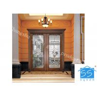 Wholesale Single Round Head Decorative Panel Glass For Entry Door Low E 3.2m Tempered from china suppliers