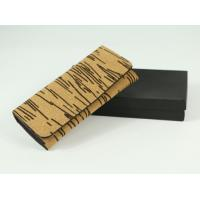 Wholesale Nature Cork Raw material Women wallet 7.5''x3.5''(19x9cm) with card and money slot from china suppliers