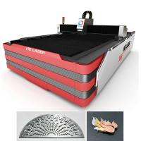 Wholesale 700 Watt Stainless Steel Fiber Laser Cutting Machine 0.2mm - 10mm Cutting Thickness from china suppliers