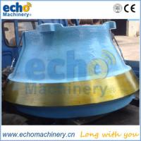 Buy cheap high quality cone crusher liner for quarry,mining,crushing application from wholesalers