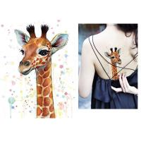 Wholesale Body Art Fake Temporary Tattoo Sticker , Temporary Sleeve Tattoos For Adults from china suppliers