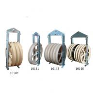 China Cast Steel Sheave Wire Rope Pulley Block / Heavy Duty Pulley Block CE Approval on sale