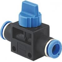 Wholesale Tube To Tube Pneumatic Hand Valve Manual Shut Off Valve Fittings Full Port Flow from china suppliers