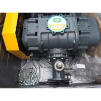 Wholesale Grey High Pressure Tri Lobe Roots Blower , Sewage Rotary Positive Displacement Blower from china suppliers