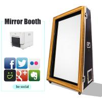 Quality Say Cheese Magic Mirror Selfie Photo Booth Enclosure Self - Service For Fun for sale