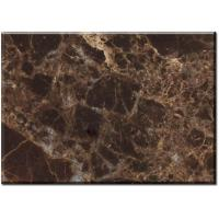Wholesale Dark Emperador marble bathroom floor tile for high end hotel or villa projects from china suppliers