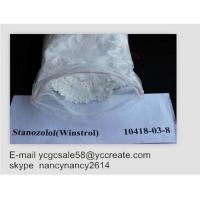 Wholesale 99% Stanozolol Powder Oral Anabolic Steroids Muscle Growth Winstrol 50Mg cas10418-03-8 from china suppliers