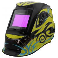 Wholesale Solar Powered Auto Darkening Welding Helmet , Auto Tint Welding Helmet CE Approved from china suppliers
