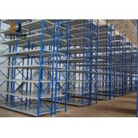 Buy cheap Galvanized Corrosion Protection Medium Duty Shelving / Industrial Metal Racks from wholesalers