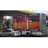 Buy cheap HD outdoor led tv display popular mobile trailer advertising outdoor p10 full color truck led display screen from wholesalers