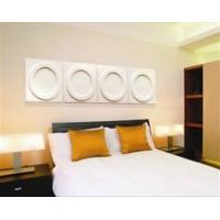 Wholesale Simple Round 3D Decorative Wall Panel For Bedroom , KTV Wholesaler from china suppliers