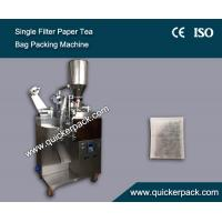 Wholesale Automatic Single Filter Paper Bag Granule Tea Packaging Machine from china suppliers