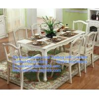 Wholesale Wooden dining tables and chairs, long wooden dining table, wood furniture Restaurant from china suppliers