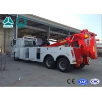 Quality SINOTRUK HOWO 6x4 Heavy Duty Wrecker Tow Truck For Car Accident for sale