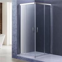 Wholesale 8mm Glass Bathroom Shower Enclosure, 1900MM height Corner Entry Cubicle from china suppliers
