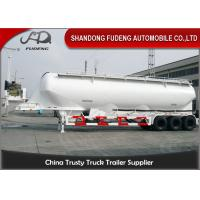 Wholesale Vertical Type Three Axles Bulk Powder Semi Tanker Trailer , Dry Van Trailer With Blower from china suppliers