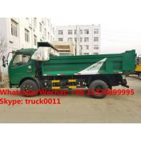 Wholesale dongfeng 6 wheel dump truck with tarp cover Specifications of dongfeng 6 wheel dump truck/ tipper truck with tarp cover from china suppliers