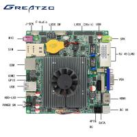 Wholesale Mini Nano ITX Motherboard Fanless Quad Core CPU J1900 Industrial Board from china suppliers