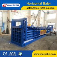 Wholesale Y82-100 horizontal 100ton waste cardboard baler paper press machine with baler size 1100X1200X1500mm from china suppliers