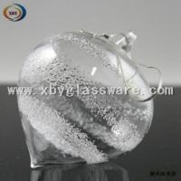 Wholesale Glass Christmas globe hanging for decoration from china suppliers