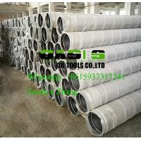 Wholesale stainless steel continuous slot johnson screens for water well drilling from china suppliers