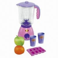 Wholesale 6 Pieces B/O Juice Extractor Toys Kitchen Play Set With Light, 39 x 12 x 30cm Packaging Size from china suppliers