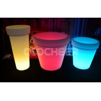 Wholesale Super Bright Room Decoration Led Flower Pot Color Change Logo Printing from china suppliers