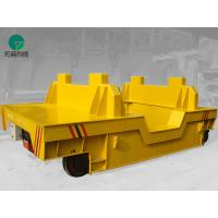 Wholesale motorized material handling pallet transfer rail vehicle large load powerd by cable from china suppliers