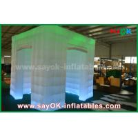 Wholesale Green Color Inflatable Led Photo Booth For Wedding / Club / Party from china suppliers
