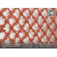 Wholesale 75X150mm diamond hole BTO-22 powder coated Welded Ripper Razor Mesh Fence | 1.8m X 6m | China Razor Mesh Supplier from china suppliers