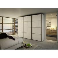 Wholesale 2018 Vermont Bedroom Modern White Particle Board Sliding Door Wardrobe from china suppliers