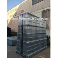 Wholesale Green Black Vinyl Coated Welded Wire Fencing For Sports Ground 200×50 Mm from china suppliers