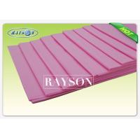 Wholesale Medical Incontinence Absorbent Disposable Non Woven Bed Sheet , Disposable Draw Sheets from china suppliers