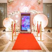 Wholesale 55 / 65 Inch Movable Magic Mirror Photo Booth For Weddings And Parties from china suppliers
