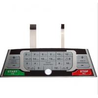 Wholesale PC Abrasion Resistant Epoxy  Custom Membrane Keypad Waterproof from china suppliers
