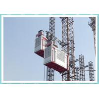 Wholesale Heavy Double Cage Rack And Pinion Lift , Industrial Elevators And Lifts from china suppliers