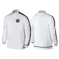 Wholesale White Soccer Sport Wear Football Jacket For Men Paris Saint Germain from china suppliers