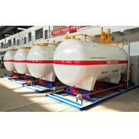 Wholesale 10CBM / 10000 Liters Gas LPG Tank With Dispenser Equipments And Scales from china suppliers