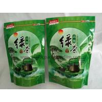 Wholesale Green Tea / Herbal Tea Eco friendly Printed Stand Up Pouches , Empty Printed Packaging Bags With Zipper from china suppliers