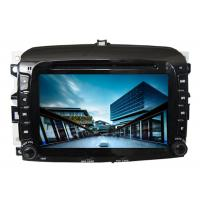 Wholesale Car radio in car audio gps dvd navigation system with screen sat nav for fiat 500 from china suppliers