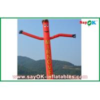 Wholesale Red Rip-stop Nylon Durable Advertising Inflatable Air Dancer / Sky from china suppliers