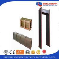 Wholesale Stable performance 10W walk through metal detector gate Sound alarm from china suppliers