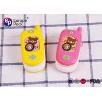 Quality PP HIPS Custom Design Kids Electronic Mobile Phone Toy Pantone Color for sale