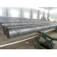 Wholesale Spiral Welded SSAW Steel Pipe Anti Corrosion / Anti Rust Paint For Water Engineering from china suppliers