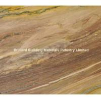 Wholesale Luxury Aquarela Quartzite Tiles, Brazil Brown Quartzite Tiles from china suppliers