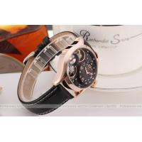 Wholesale Winner Round Black Leather Ladies Automatic Watch Diamond With 40mm Case from china suppliers