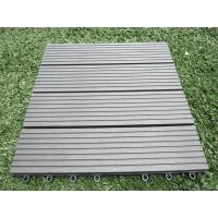 Wholesale Outdoor Waterproof Artifical Turf Wood Plastic Composite Flooring for Garden and Balcony from china suppliers