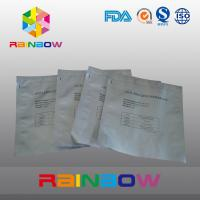 Wholesale Silvery LDPE Aluminum Foil Plastic Bag / Matte Printed Plastic Pouches Packaging from china suppliers