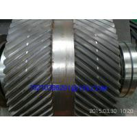 Buy cheap Forged Steel Heavy Duty Double Helical Spur Gears / Herring Bone Gears from wholesalers